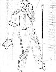 Michael Jackson Thriller Coloring Pages Complete Guide Example