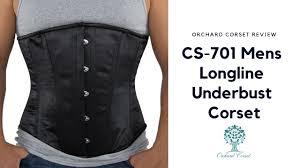 Orchard <b>Corset</b> Review: CS-701 <b>Mens</b> Longline Underbust <b>Corset</b> ...