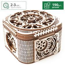 <b>Шкатулка с секретом</b> UGEARS 70031. Купить деревянный ...