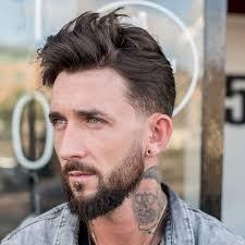 tousled men s hairstyles