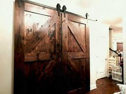 Old Barn Door The Project Atlanta Interior Sliding Double With ...