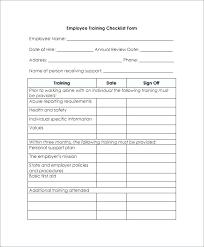 New Hire Checklist Template Work Employee Orientation Hiring