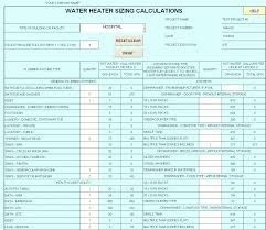 62 Ageless Water Line Sizing Chart