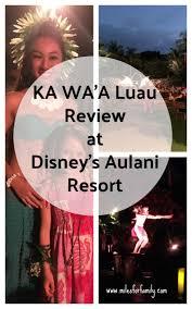 Aulani Luau Seating Chart Is A Hawaiian Luau Worth The Money Ka Waa Luau Review