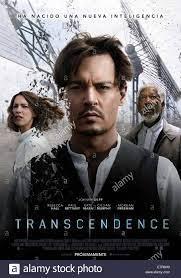 Transzendenz Jahr: 2014 USA / UK Regie: Wally Pfister Johnny Depp Movie  Poster (Esp Stockfotografie - Alamy