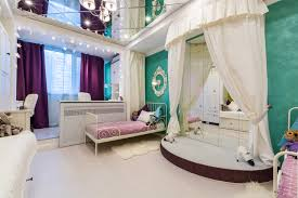 interior decoration. Kitsch Interior Design Style. Bright Colors In Combination With The White Pompous Decoration S