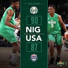 D'Tigers Basketball Team beats USA ...