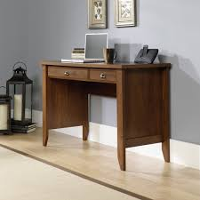 sauder shoal creek oiled oak writing desk