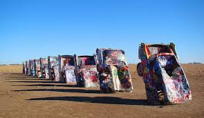 Image result for cadillac ranch