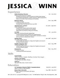 Examples Of Highchool Resumes With No Work Experience Resume
