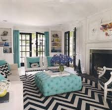 grey white and turquoise living room. jonathan adler designs a westchester house grey white and turquoise living room