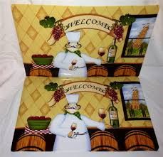 Italian Chef Decorations Kitchen Italian Bistro Fat Chef Kitchen Decor Bistro Inspired Kitchen
