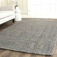 3x5 grey jute rug casual natural fiber hand woven light chunky thick 4 x 6