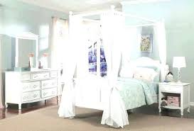 Queen Size Canopy Canopy Bed With Storage Full Size Canopy Bed Image ...
