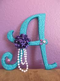 Purple Accessories For Bedroom Peacock Colored Sparkly Yarn Wrapped Wood Letter With Purple Pink