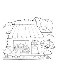 Casa Da Colorare Per Bambini Con Casa Dei Dolci Disegno Da Colorare