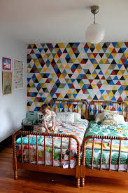 geometric wall paint20 Incredible Paint Wall Decoration Ideas
