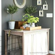 luxury dog crates furniture. Dog Cage Furniture Crate Table With Free Plans Luxury Crates Uk
