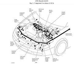 Difficult starting 96 mazda 626 2 0 do it yourselfer full rh 2carpros mazda protege lx engine diagram 97 mazda protege engine diagram