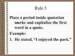 Quote Inside A Quote Quotation Marks Ppt Video Online Download