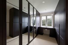 contemporary fitted bedroom furniture. Dark Wood Modern Fitted Wardrobes Contemporary Bedroom Furniture D