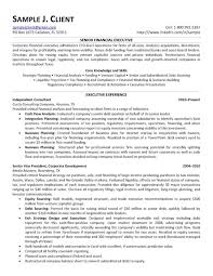 Sample Mba Resume Financial Analyst With Resumes Examples P Sevte