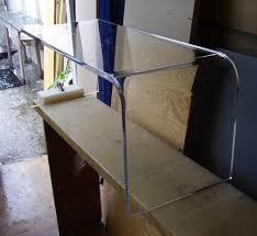 Acrylic Glass Coffee Table Furniture Acrylic Coffee Tables Design Ideas Clear Waterfall