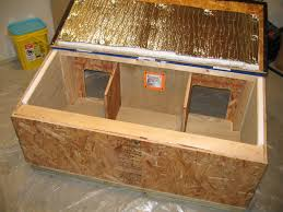 heated outdoor cat house plans designs