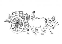 Image result for indian bullockcart