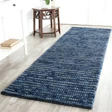 blue runner rug linear light elkar club