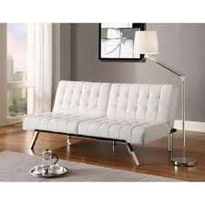 office sleeper sofa. White Futon Sofa Sleeper Convertible Living Room Office Bed Furniture Chaise New #Unbranded #Modern