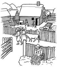 Small Picture Coloring Pictures Plimoth Plantation