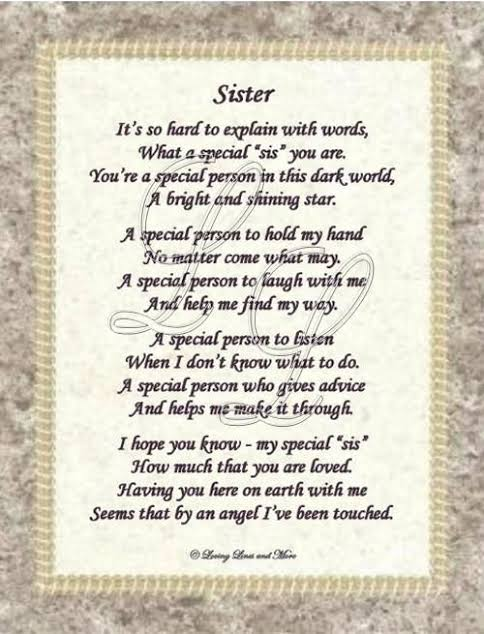 happy birthday younger sister poems