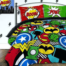 marvel comforter set superhero twin bedding super hero squad for toddlers 4 avengers