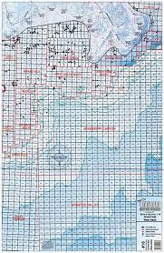 West Delta Block And Rig Chart La16 Keith Map Service Inc