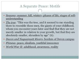 a separate peace introduction author john knowles was born  14 a