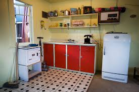 The Fifties Kitchen Interior Design For Shoes Shop - 1950s house interior