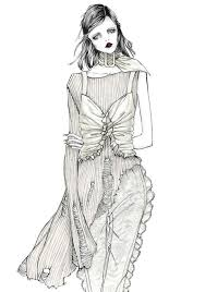 Issa Grimm Fashion Illustration Design Style Illustrations
