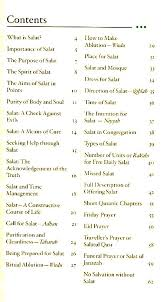 Salat Chart Salat Guide Made Simple Pocket Guide A Compact And