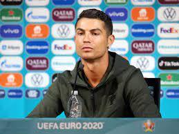 Cristiano Ronaldo stellt Coca-Cola bloß - Jetzt droht die UEFA mit  Konsequenzen