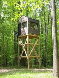 How To Easily Build A 2 Man White Tail Deer Tower Blind In High How To Make Windows For A Deer Blind