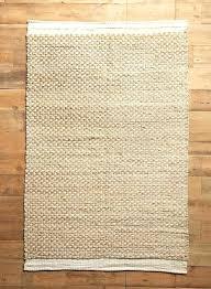 braided jute rug woven raw edged 1 chunky hand 10x14