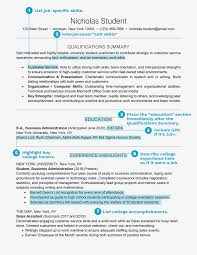 Student Profile Example Personal Sample Resume Examples For A Form