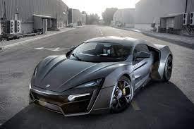 W Motors Lykan Hypersport in Blue 4K ...