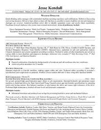 Microsoft Resume Template For Machinist Resume Template For Mac