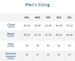 Pajama Jeans Size Chart Pajamajeans For Men Pacific