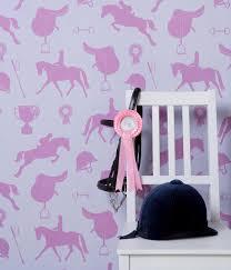 Lilac Bedroom Wallpaper Gymkhana Designer Wallpaper Monument Interiors