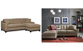 clarke fabric 2 pc sectional sofa with