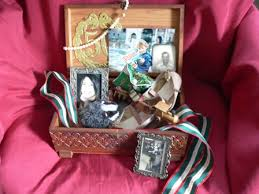 for seniors with alzheimer s a memory box helps recall people and events from the past the residents of our alzheimer s care facility love being