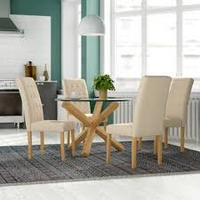 oporto dining table with 4 chairs